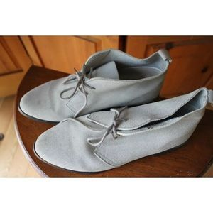 Vintage Shoes - Vintage Gray Suede Chukka Desert Boot GrayShoes